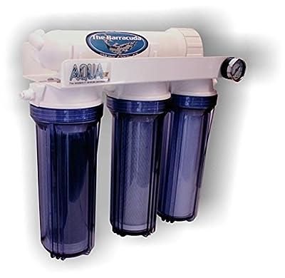 AquaFX 4 Stage Barracuda DI Reverse Osmosis System, 200 GPD