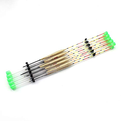 10Pcs/Lots Wooden Fishing Tackle Tools Accessories Floats Fishing Float -