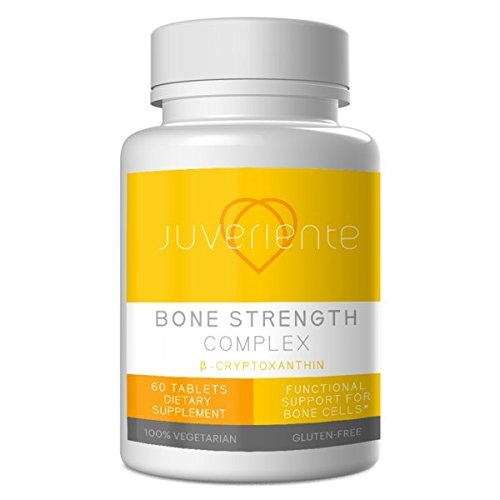 Japanese Bone Strengthening Supplement for Osteoporosis - Fight Your Weakening Bones from The Cellular Level - All Natural - Featuring β Cryptoxanthin from Japanese Mandarin Orange