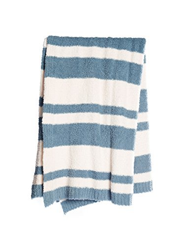 BarefootDreams Cozychic Baja Blanket - Dusk by Barefoot Dreams