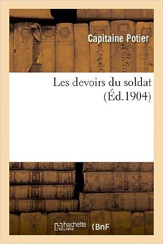 Livres Les devoirs du soldat epub pdf
