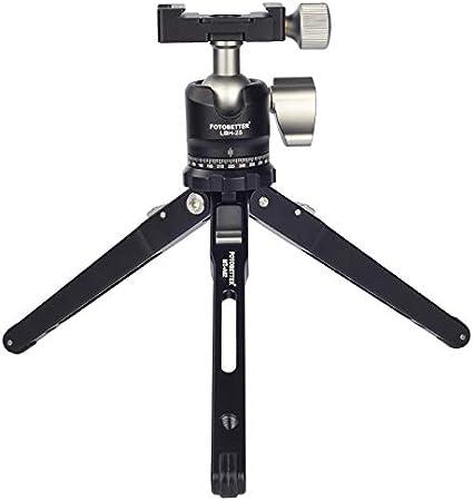 MT-A02+LBH-25 FOTOBETTER MT-A02 LBH-25 Table Top Mini Tripod with Low Profile Ball Head//Pocket Pop Tripod Kit for Camera//Phone,Load Capacity 55.16lb