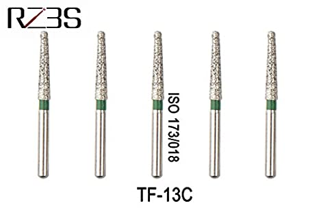 new concept 02749 7be80 Buy Generic choose model   12 PCS Dental Diamond FG Flat End Taper Bur For  NSK Style High Speed Air Turbine TF-13C, TF-12F, TF-21F, TF-12EF, TF-21EF  Online ...