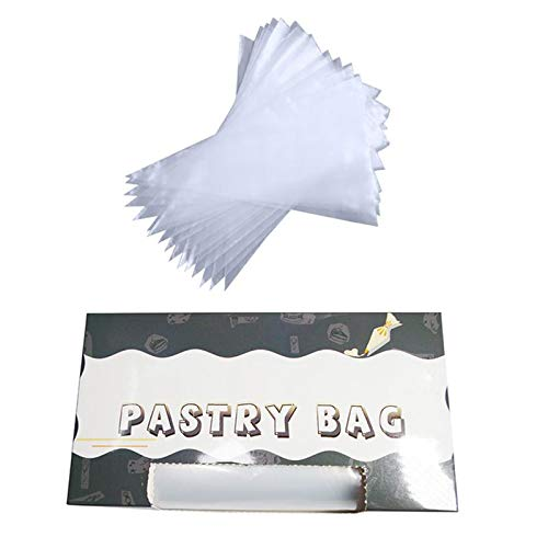 Piping Bags - 50Pcs/Lot Roll Disposable Thickened Cream Cake Embroidery Flower Bag Tear-off Pastry Bags Upset 7 Silk Cake Icing Piping Bag by Piping Bags (Image #6)