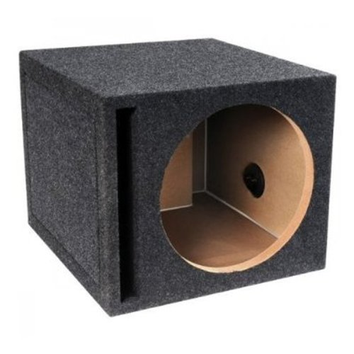 Absolute USA Single 10-Inch Slot Vented Ported Subwoofer ()