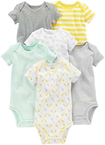 Simple Joys by Carter's Baby 6-Pack Short-Sleeve Bodysuit