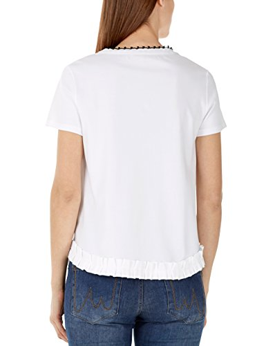 Marc Mujer Blanco Cain 100 Camiseta Para Additions white rcPrHqp6zf