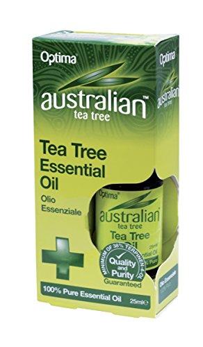 The Healthy Option Tea Tree Oil 100% Pure Oil 25Ml by Optima