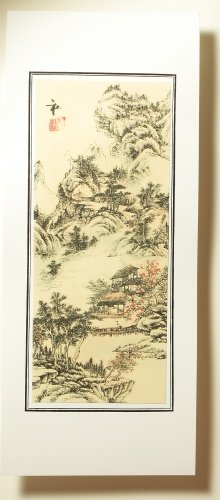 Amazon Com Chinese Water Color Painting Four Seasons Beautiful