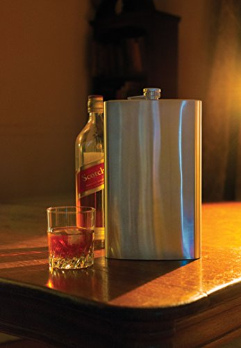 Jumbo-64-Oz-Stainless-Steel-Metal-Liquor-Flask-for-Men-Women-No-Spill-Cap-Portable-Travel-Drinks-Alcohol-Spirits-Whiskey-Parties-Giant-Drinking-Flask