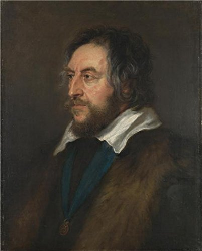 The High Quality Polyster Canvas Of Oil Painting 'Peter Paul Rubens-Portrait Of (Series 2 Leg Magazine Base)