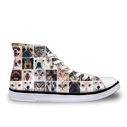 Chaussures Cat amp; Nopersonality Ville à Lacets Face de Femme Dog dxUYw0