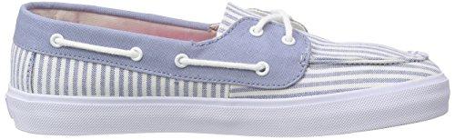 Vans Chauffette Sf - Zapatillas Mujer Azul (stripe/faded Denim)