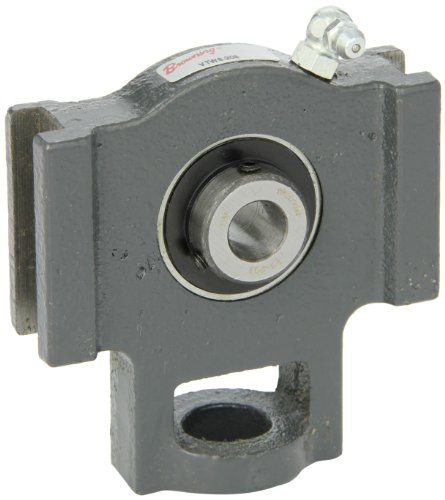 Browning VTWS-208 Ball Bearing Take-Up Unit, Setscrew Lock, Non-Expansion, Regreasable, Contact and Flinger Seal, Cast Iron, Inch, 1/2'' Bore, 17/32'' Slot Width, 3'' Frame Width by Browning
