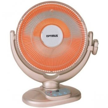 "Optimus H-4438 14"" Oscillating Radiant Space Heater"