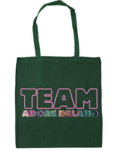 delano adore Gym litres Shopping 10 HippoWarehouse Beach Bottle Bag Team Green 42cm Tote x38cm 4qw5xPEX