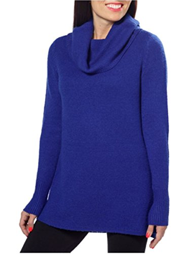 DKNY Womens Pullover Sweater Baltic