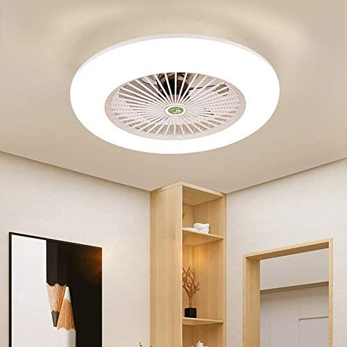 KWOKING Lighting Doughnut Shape Ceiling Light and Fan
