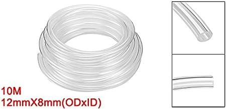 uxcell Pneumatic Hose 4mm OD 2.5mm ID Polyurethane PU Air Hose Pipe Tube 10 M 32.8ft Black