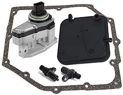42RLE Remanufactured Transmission Solenoid Block Filter KIT Compatible with 03-UP Dakota Liberty Wrangler Jeep Chrysler Dodge Mitsubishi 4 Speeds Only