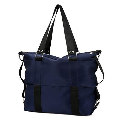 - RAINED-Women's Fashion Handbag Simple Waterproof Single Shoulder Messenger Bags Travel Tote Versatile Satchel