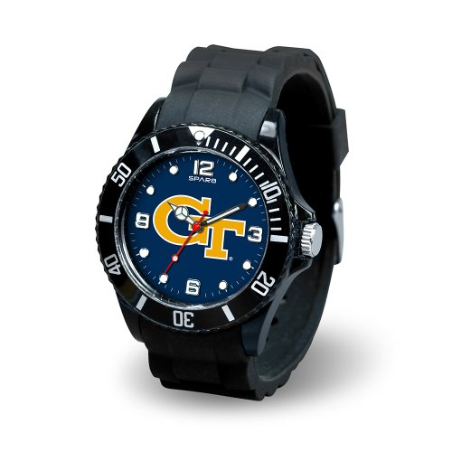 Yellow Jackets Sport Steel Watch - Rico Industries NCAA Georgia Tech Yellow Jackets Spirit Watch