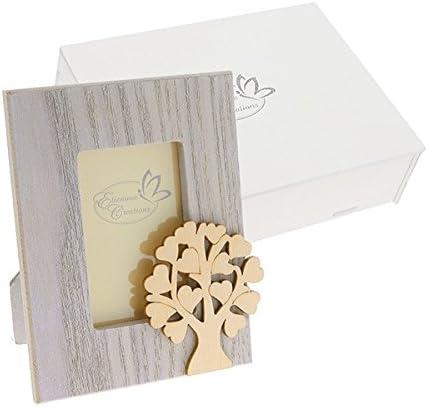 Portafotos de madera con diseño de árbol de la vida de 12 x 9 cm ...