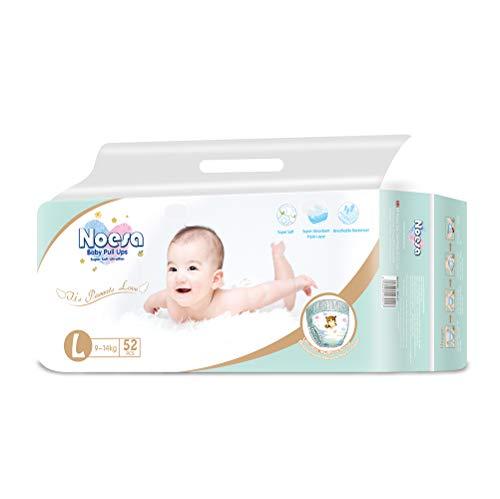 NOESA NPL-52 Baby Pull Ups 2T-3T (18-31 lb.) 52 Count Slim & Soft for Babys Sensitive Skin Disposable Training Pants