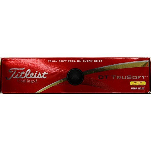 Titleist DT Tru Soft Golf Ball (Yellow)