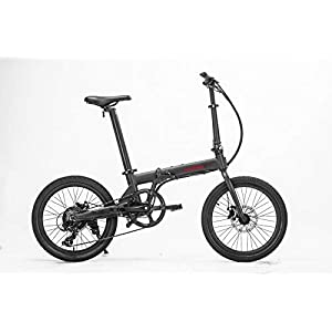 41GXvIOmSPL. SS300 HOOBOARD Hoobike Bicicletta Elettrica Pieghevole, 250 W, 36V 5,2Ah Batteria Ricaricabile certificata UL agli ioni di…