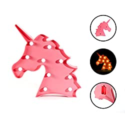 Unicorn Night Lamp for Girls Bedroom - The Perfect Gift for Unicorn Lovers