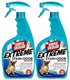 Simple Solution 2 Pack Extreme Stain Odor Remover Spray (64 oz)