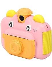 Instant Print Camera Toy, Kid Camera Digital Instant, Kid Camera Toy, Anti-drop Cadeau voor Jongens & Meisjes Kinderen Duurzaam(roze)