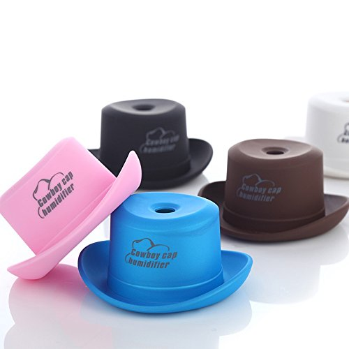 EBDcom Mini Cowboy Cap Humidifier USB Portable Humidifying Air Diffuser Mist Maker Home,Blue