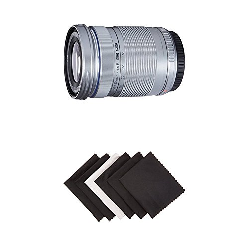 Olympus - M.Zuiko Digital ED 40-150mm f/4.0-5.6 R Telephoto Zoom Lens for Most Micro Four Thirds Cameras - Silver