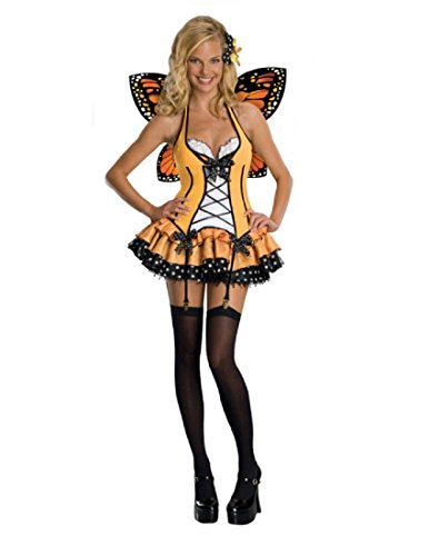 Secret Wishes  Fantasy Butterfly Costume, Orange, Medium - coolthings.us