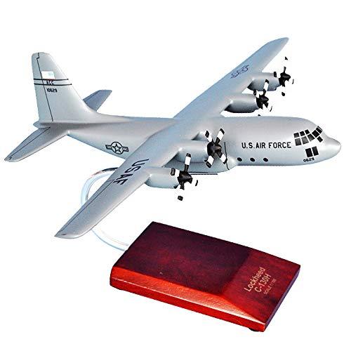 Mastercraft Collection MCC130HHGW C-130H Hercules Wood Desktop Model - Gray