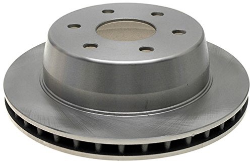 ACDelco 18A1412A Advantage Non-Coated Rear Disc Brake Rotor