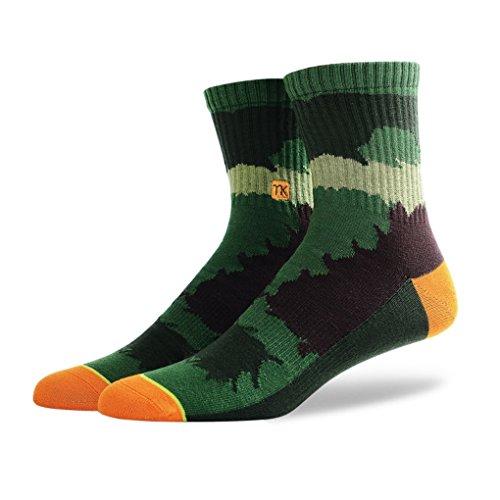 Car Barcelona Flag - QASocks Cool Winter Football Tennis Polo Dress Casualcolorful Men's Athletic Socks (5 Pair)