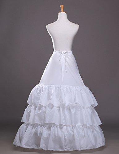 Vintage Spitze Hochzeitskleid Linie Tüll Braut für Damen Brautkleider Kleid Petticoat Lang die A v4wqCwPnd