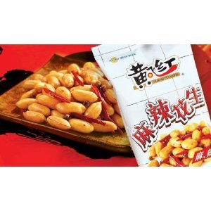 Huang Fei Hong Spicy Cripy Peanut, 3.88 Ounce 8-Count by HuangFeiHong