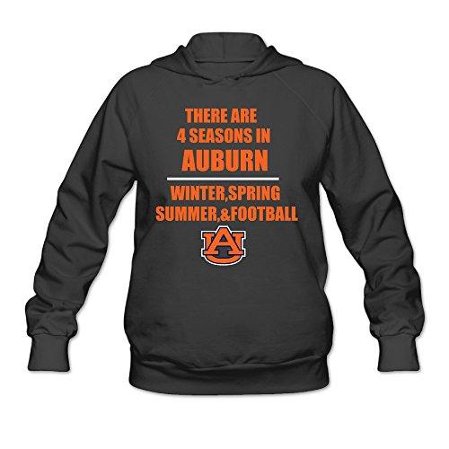 CYANY Auburn Tigers University 4 Seasons Women's Funny Hoodies Sweater SBlack