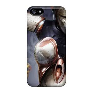 5/5s Scratch-proof Protection Case Cover For Iphone/ Hot Female Robot Phone Case by mcsharks