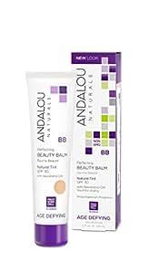 Andalou Naturals Perfecting BB Beauty Balm Natural Tint SPF 30, 2 Ounce