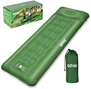 QPAU Sleeping Pad for Camping, Portable Self-Inflating Mattress for Backpacking and Hiking, Compact and Ultral