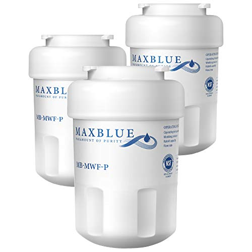 Maxblue MWF Refrigerator Water Filter, Replacement for GE Smart Water MWF, MWFINT, MWFP, MWFA, GWF, HDX FMG-1…