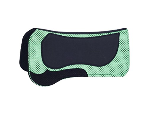 Tough-1 Contour Pimple Grip Felt Pad Neon Green