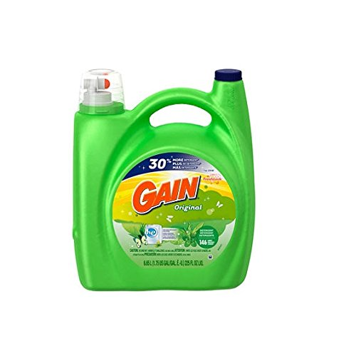 Gain HE Original Liquid Laundry Detergent - 225 oz. - 146 lo