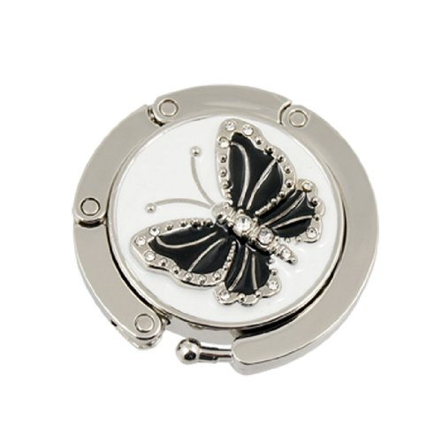 Folding Butterfly Accent Handbag Hanger