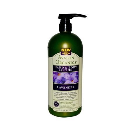 Avalon Organics Hand and Body Lotion Lavender - 32 fl oz Ava